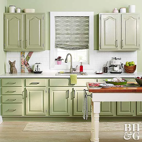 26 DIY Ways to Update Your Kitchen Cabinets Without ...