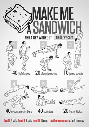 Make Me A Sandwich Workout
