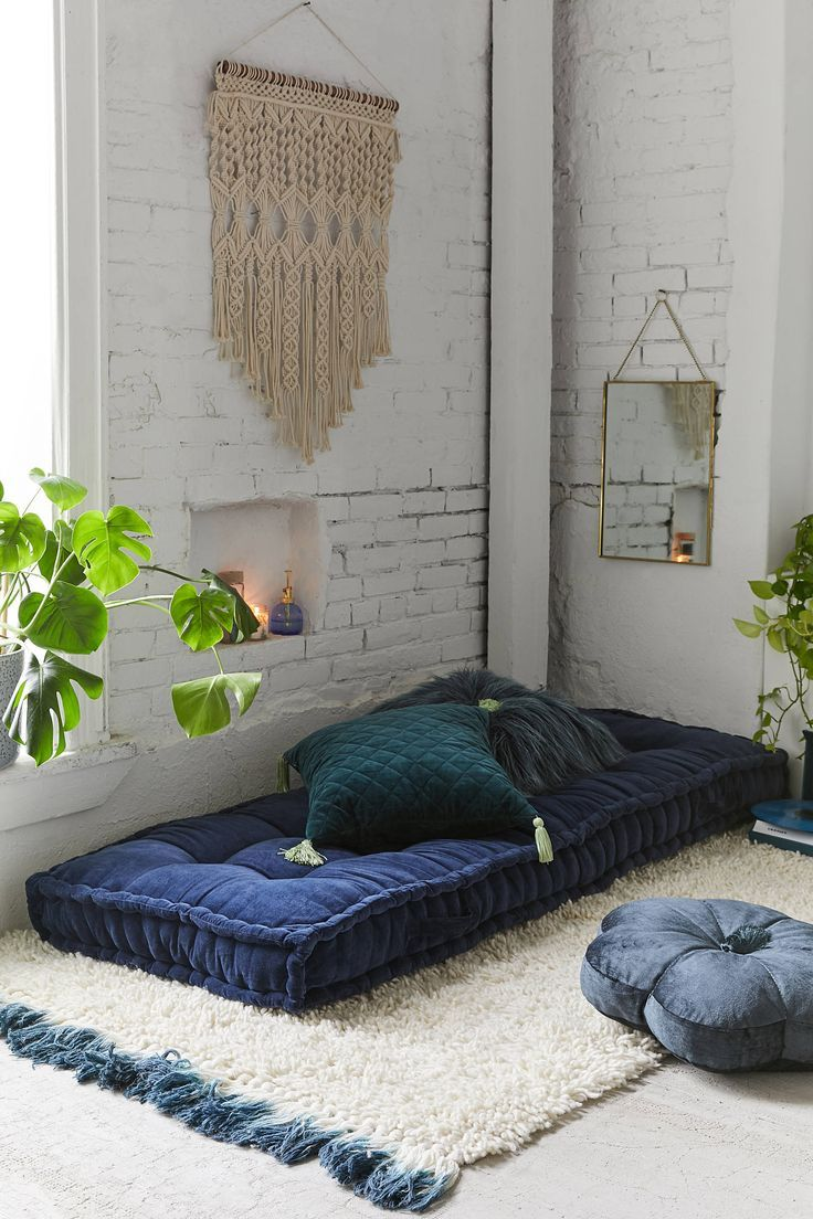 Urban Outfitters Rohini Velvet Daybed Cushion in 2020