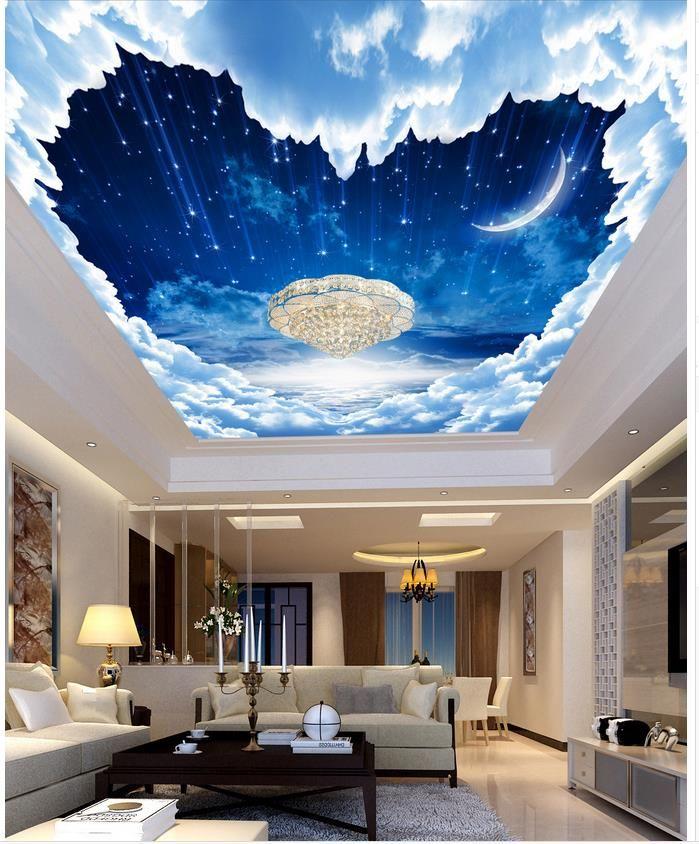 Best Pin By Satya Sah On Clouds Bedroom Ceiling Wallpaper 400 x 300