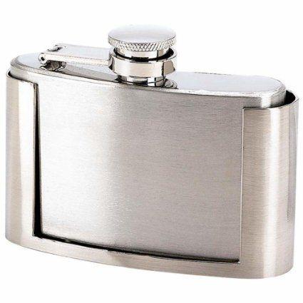 Stainless Steel Belt Buckle Flask