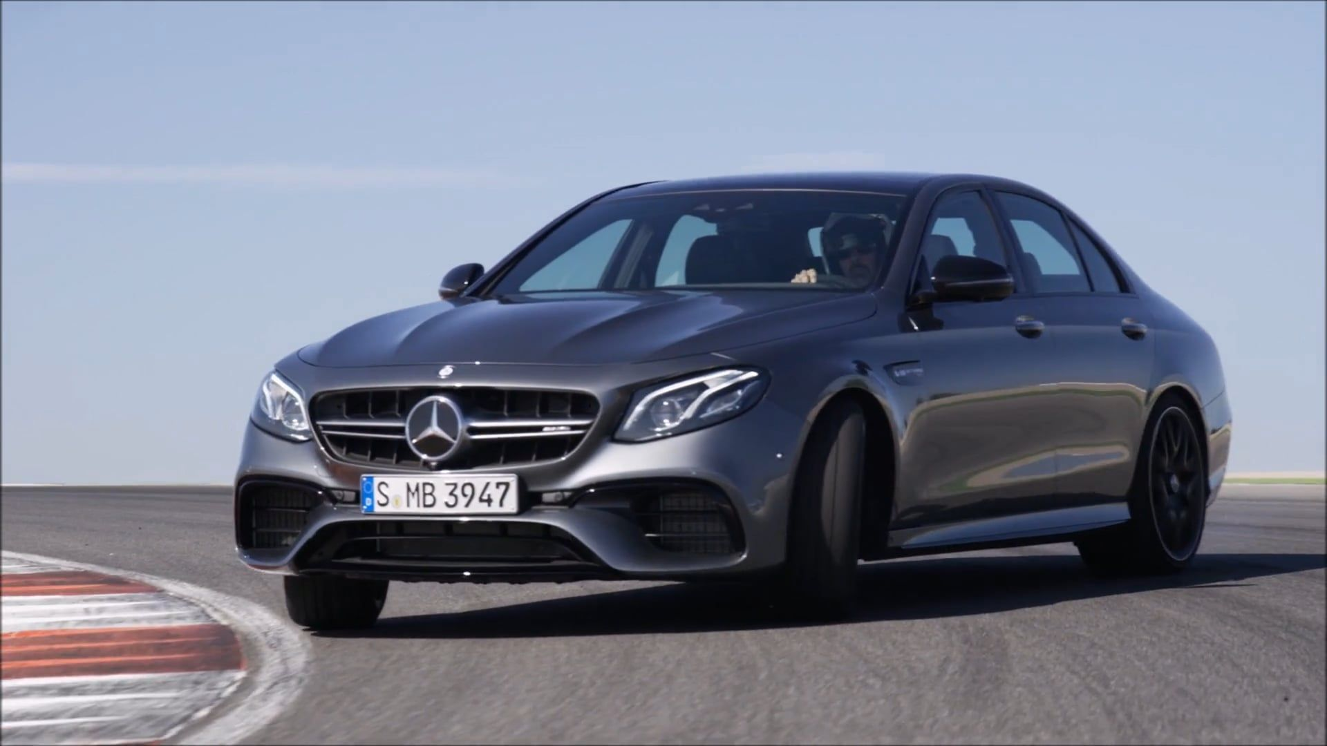 Video on track 2018 mercedes amg e63 s 4matic