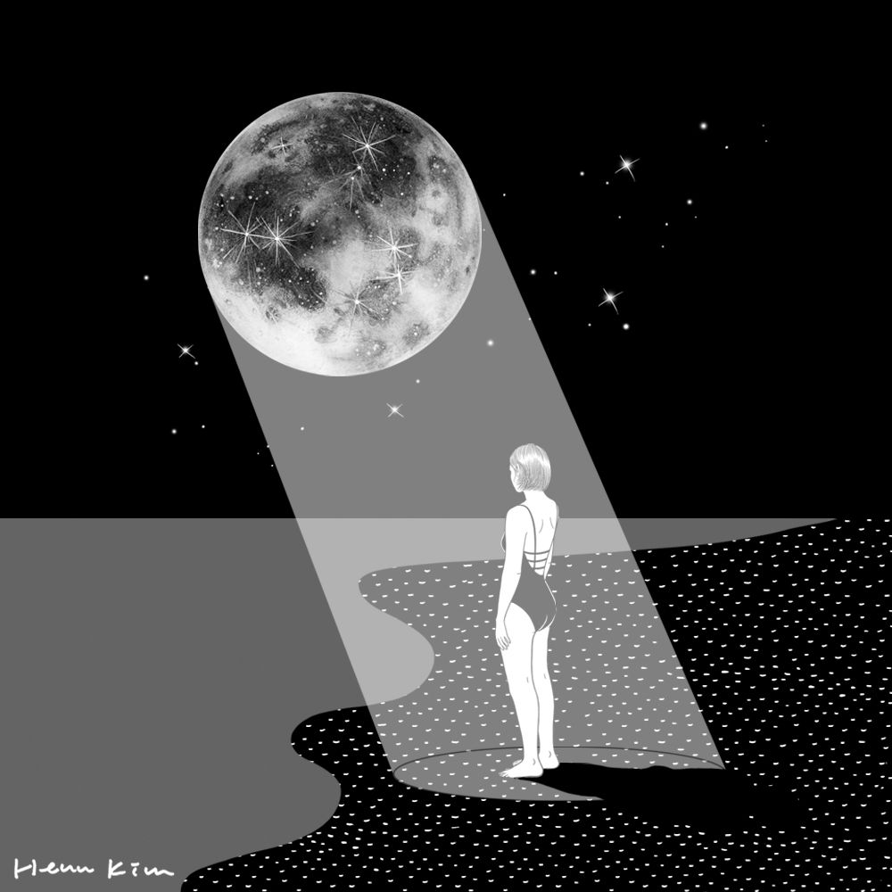 The Moon Knows Me Hennkim