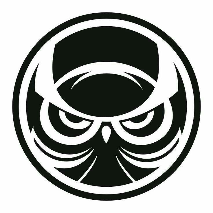 черно-белая обработка логотип в круге картинки семью