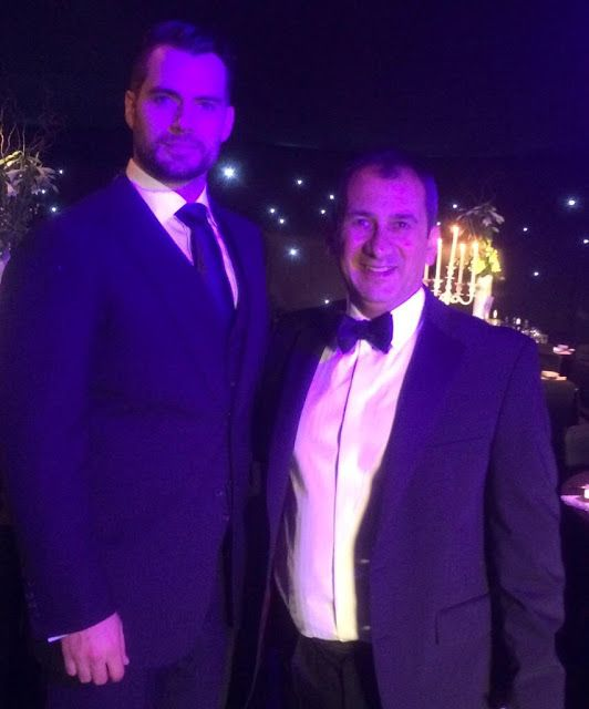 Henry Cavill News: Henry Back Home, Attending 'Durrell Wildlife' Charity Ball