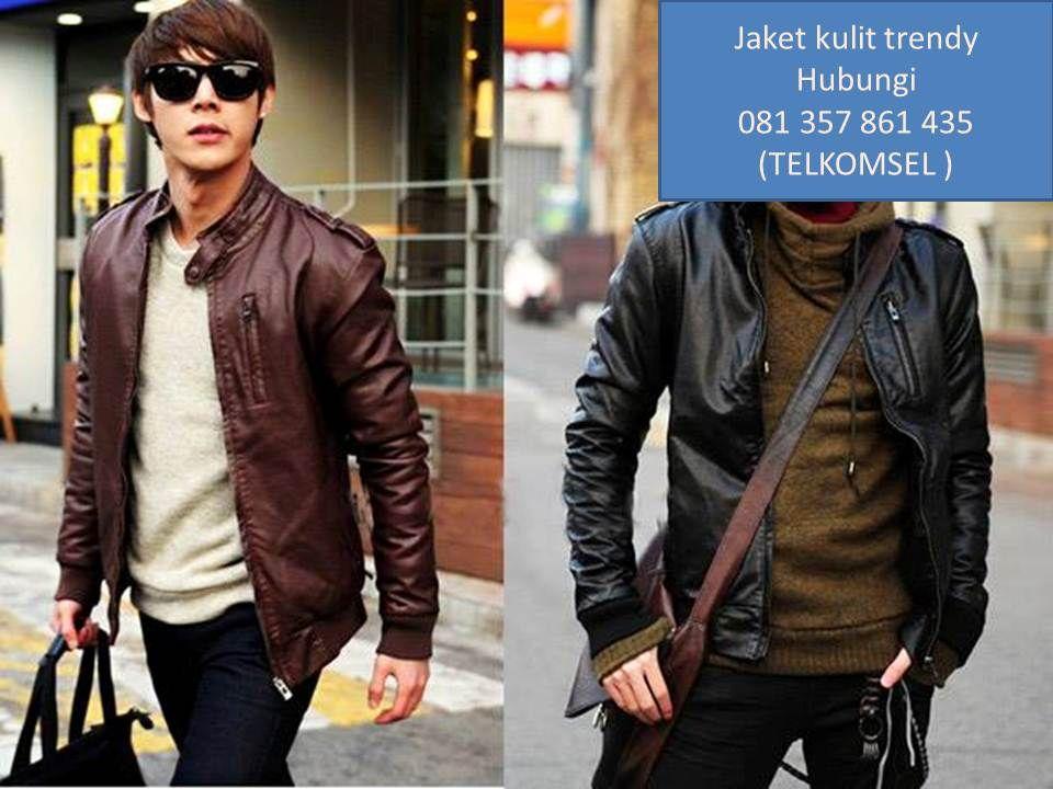 model model jaket kulit 653b3605ed