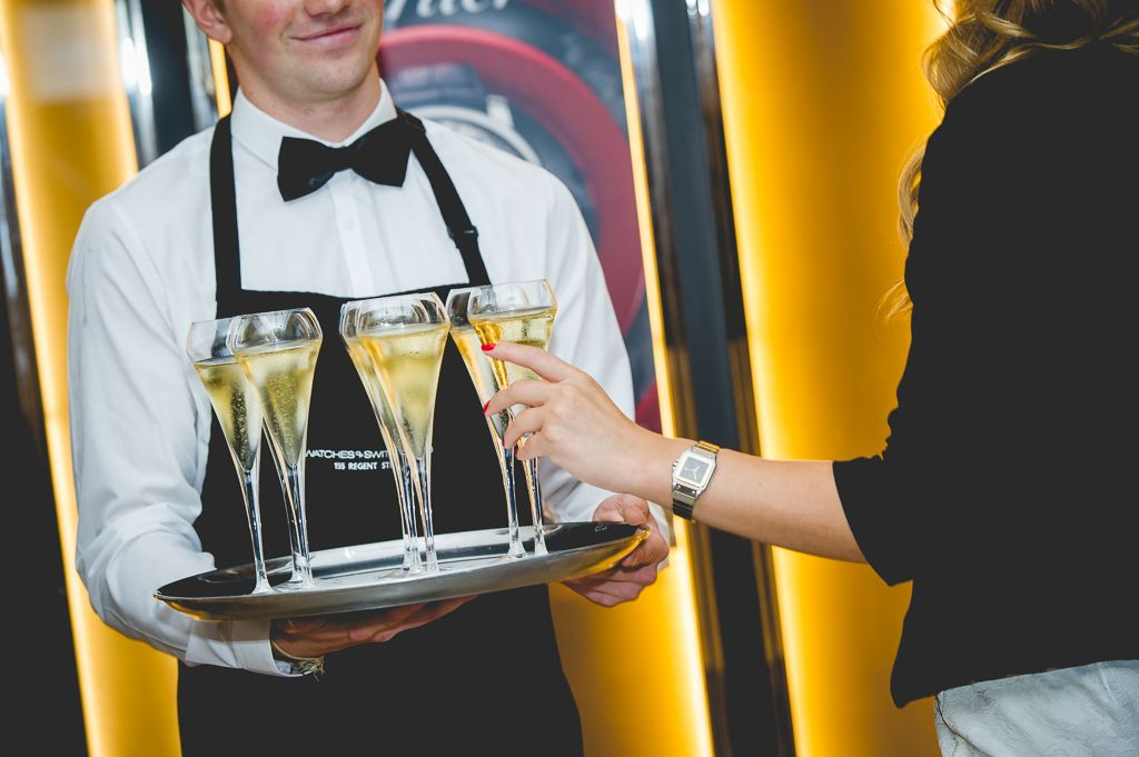Watches of Switzerland | Champagne & Canapé Event | Stones Events