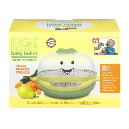 Home Magic Bullet Baby Food Steamer Baby Gadgets