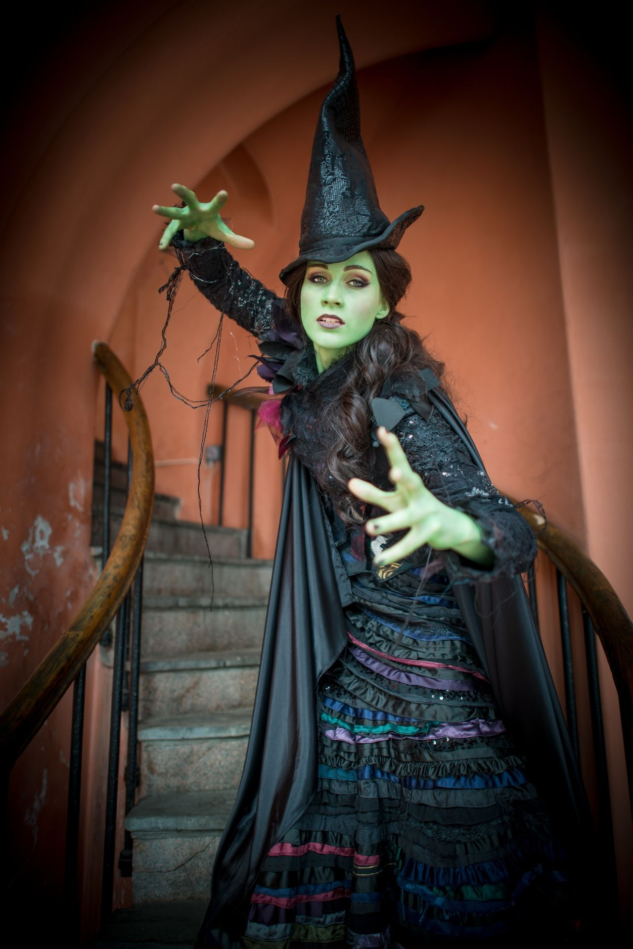 cosplay wicked elphaba wicked the musical elphaba thropp elphie ...