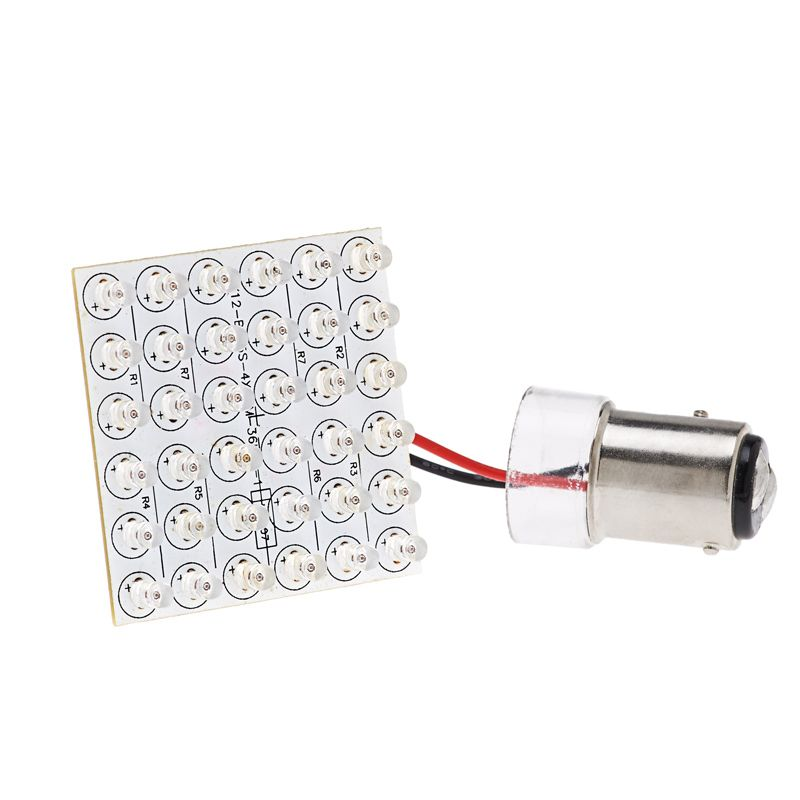 1157 Led Bulb Dual Function 36 Led Pcb Lamp Bay15d Retrofit 2000 Volvo V40 Led Lights Led Replacement Bulbs Bulb Led Bulb