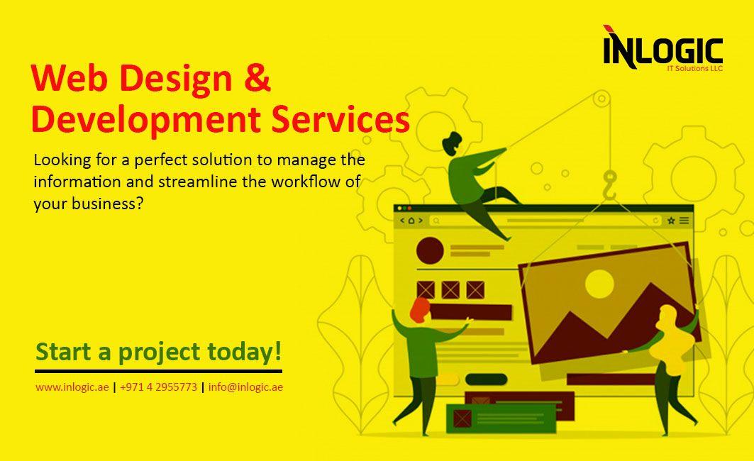 Web Design Development Services In Dubai Web Development Design Web Design Design Development