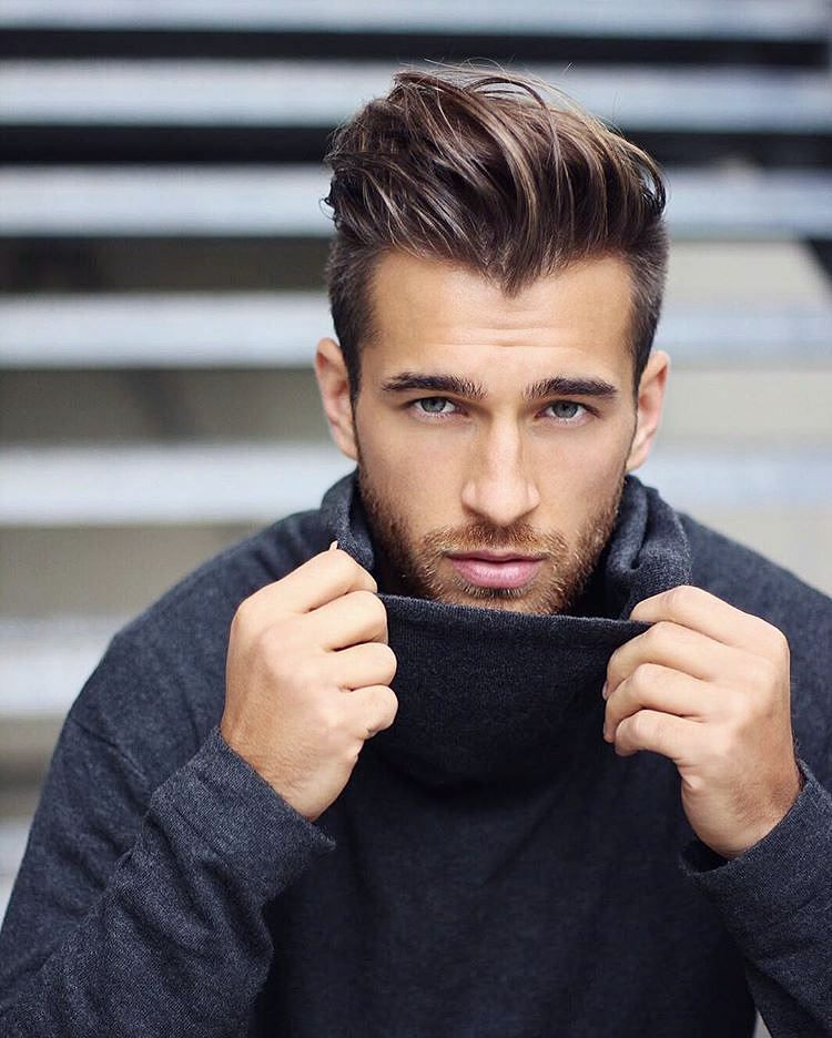 Short Sides And Long Textured Hair On Top Shorthairformen