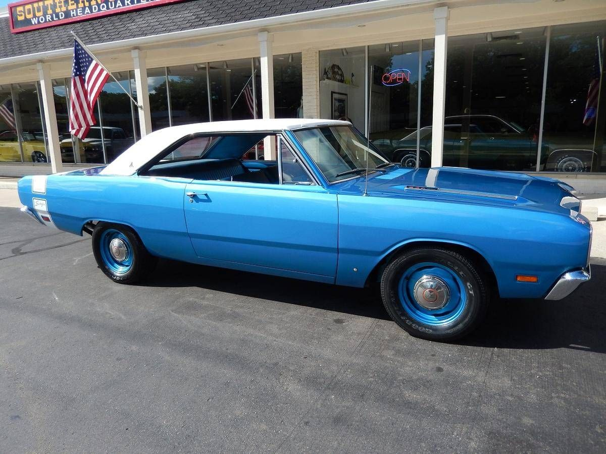 1969 Dodge Dart Swinger, built 340 4bbl V8/4speed/3.91 SureGrip ...