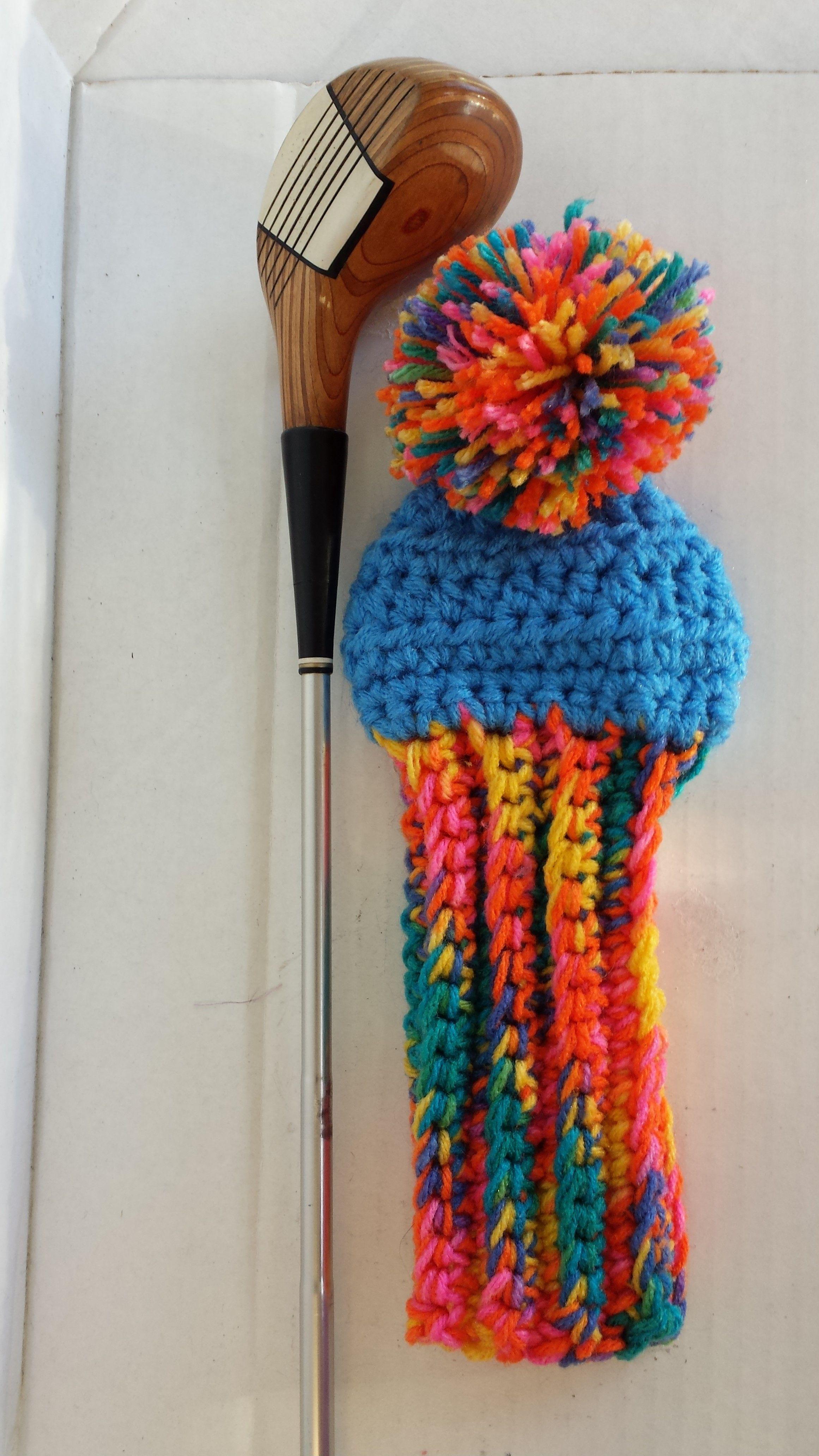 Fun Golf Club Covers | A Carolyn\'s Crocheted Headwear | Pinterest ...