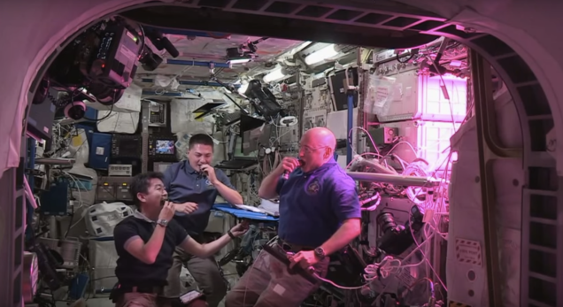ISS Astronauts Grew Space Lettuce, and Then Ate It