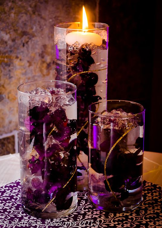 Wisteria Centerpieces By Desiree S Dezigns Candles