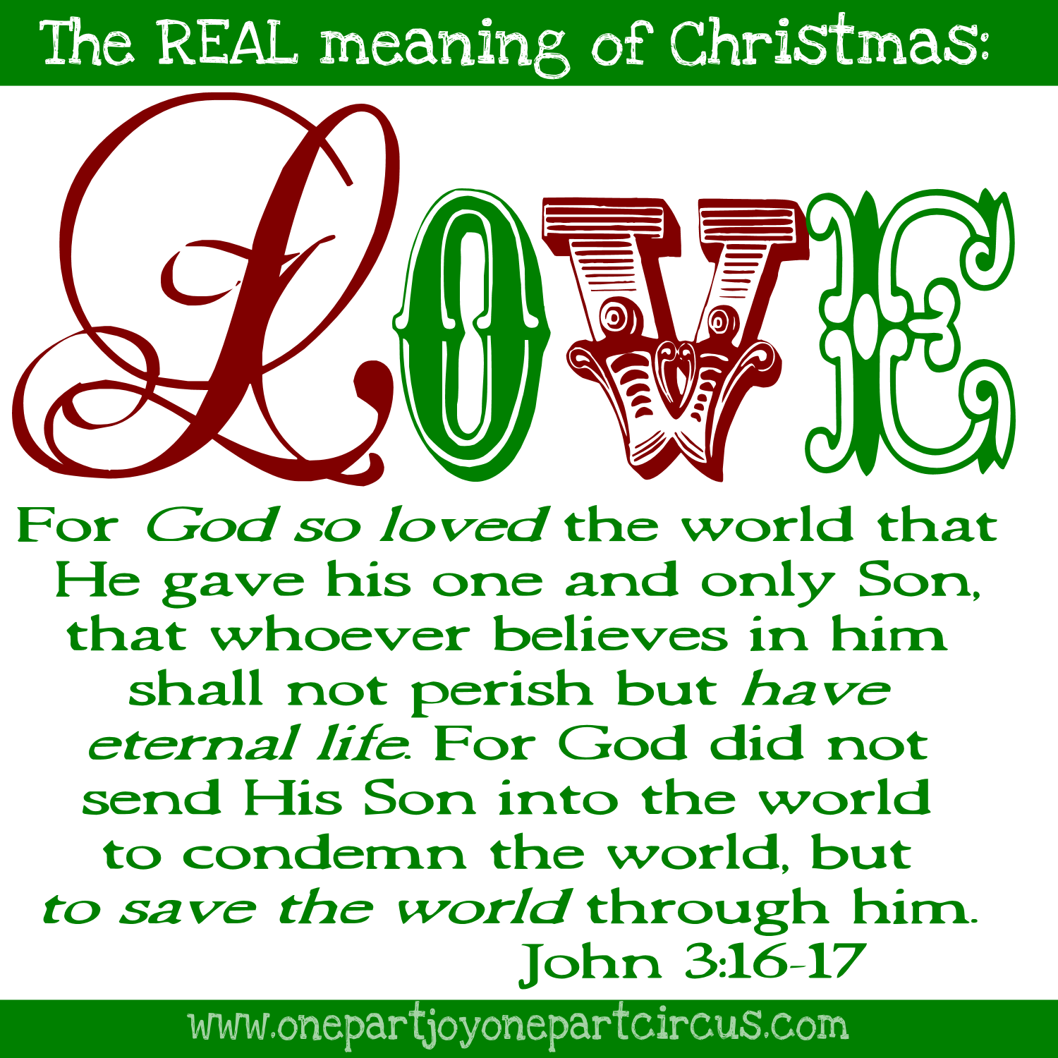 true meaning of christmas is the celebration of this incredible act of love - True Meaning Of Christmas