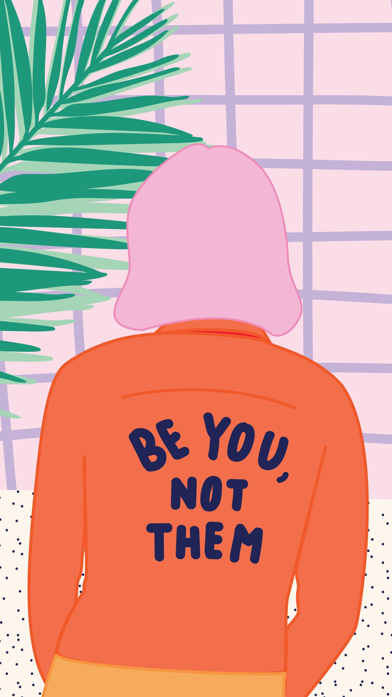 Be you, not them. Great female empowerment / feminist quote // Artwork from the new 2016 - 2017 ...