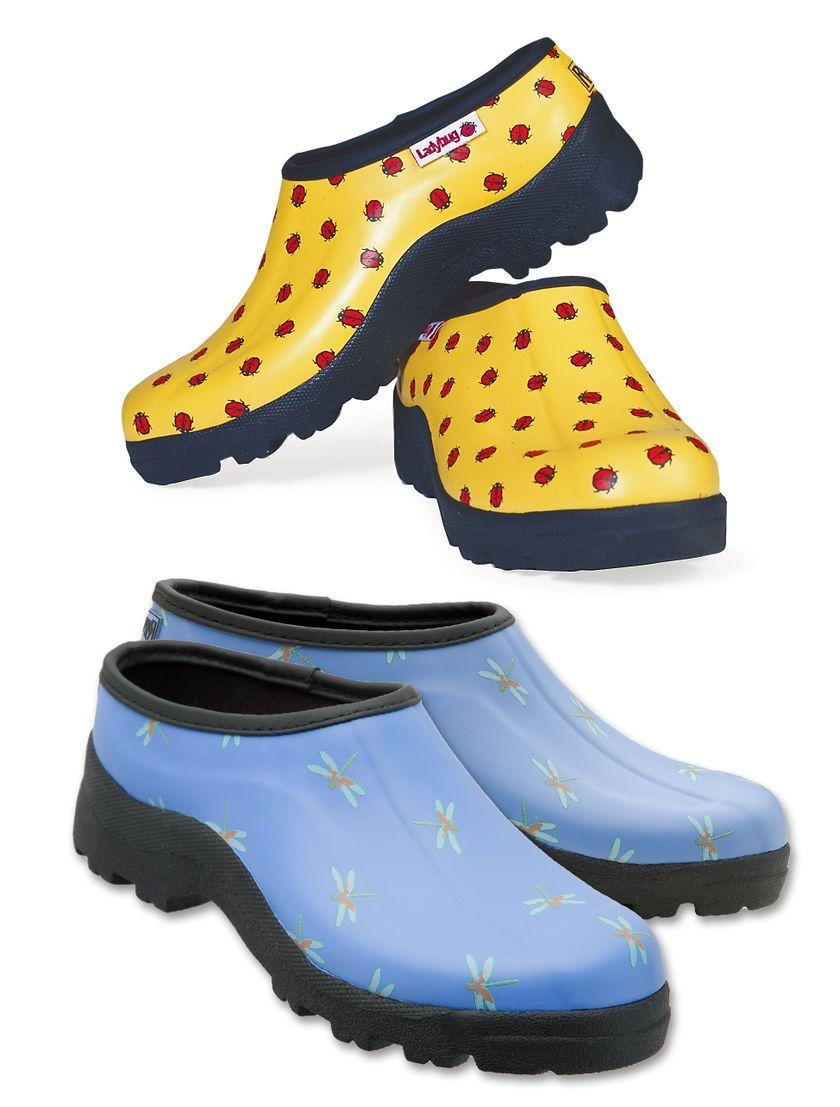Ladybug Shoes Buy From Gardener S Supply Ladybug Garden