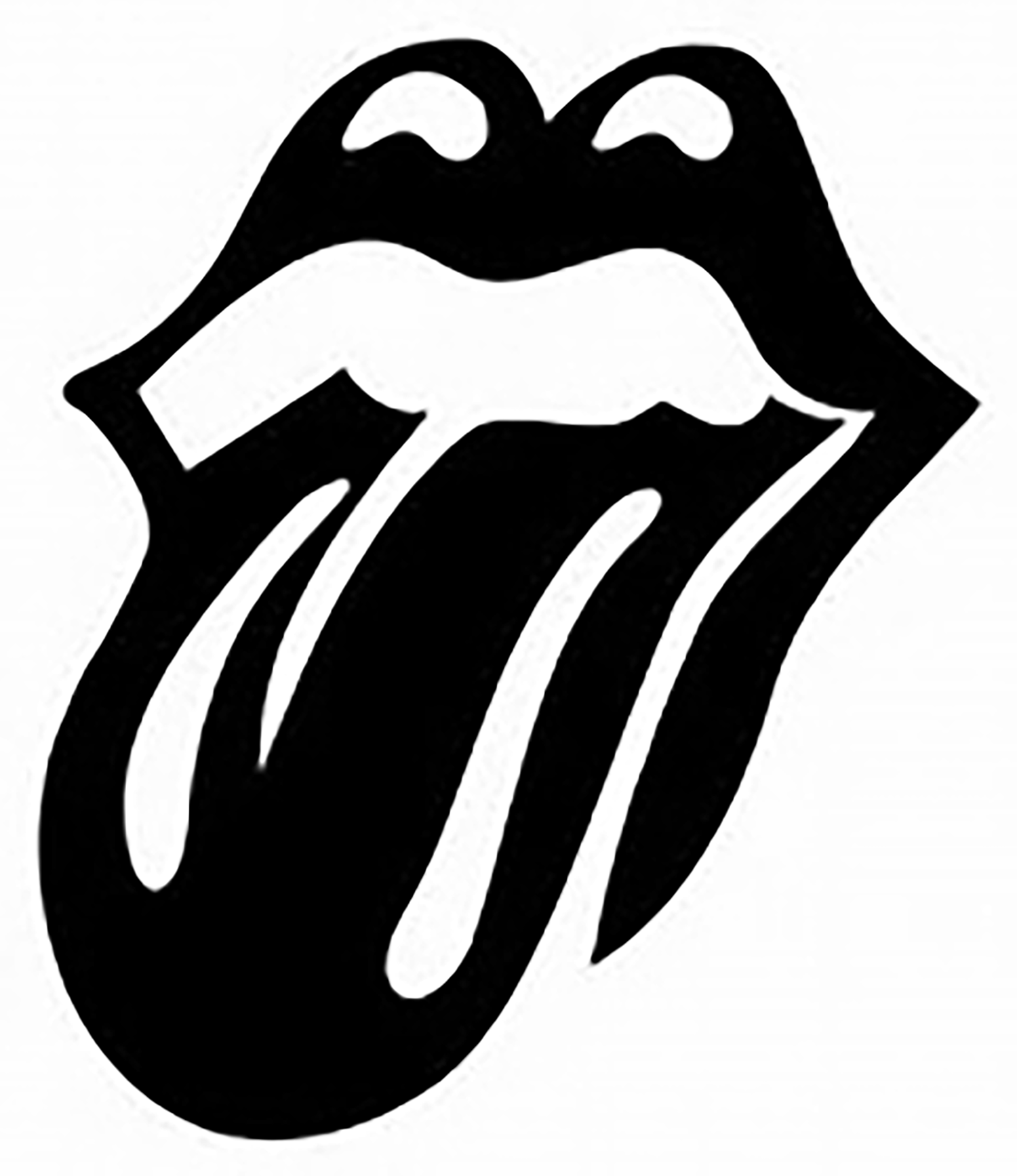 lips silhouette lip rolling stencil stones decal decals custom cameo way projects sold graffiti