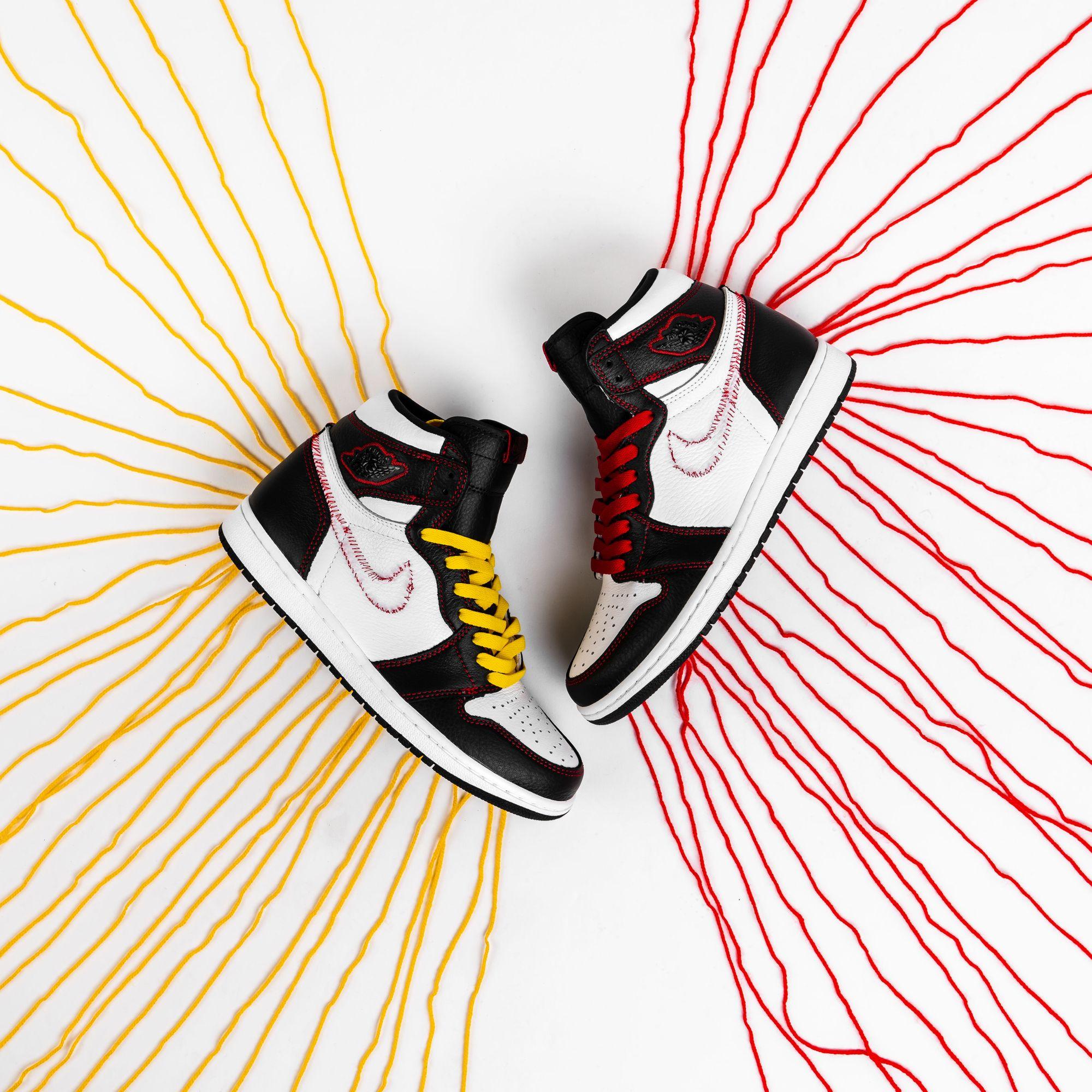 """Air Jordan 1 High OG Defiant """"Tour Yellow"""" in 2020 Air"""