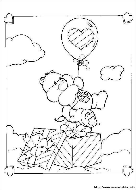 Die Glucksbarchis Malvorlagen Birthday Coloring Pages Bear Coloring Pages Coloring Pages