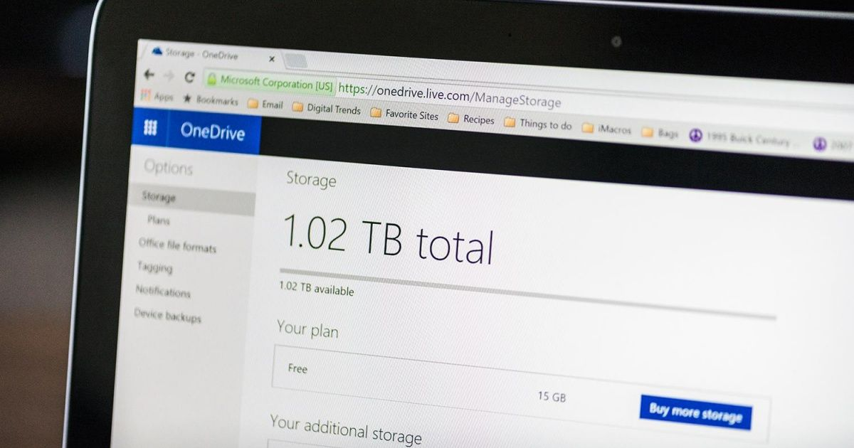 What Is OneDrive Digital trends, Cloud storage