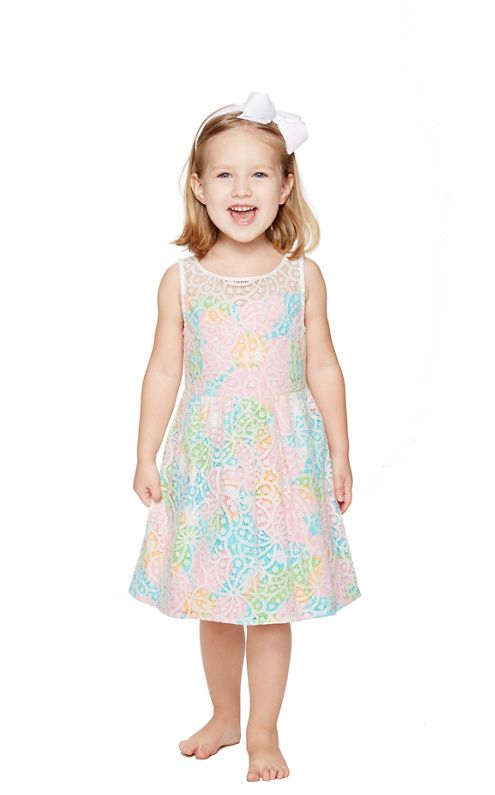 Little Ellis Fit And Flare Dress