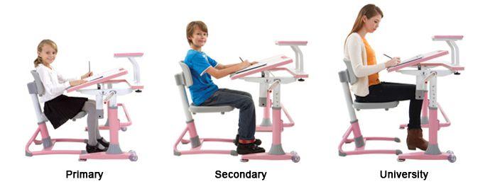 kids children study desk table ergonomic chairs malaysia