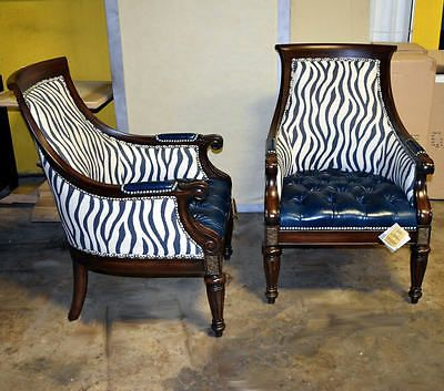 Captivating Thomasville Furniture Ernest Hemingway Anson Leather Arm Chair