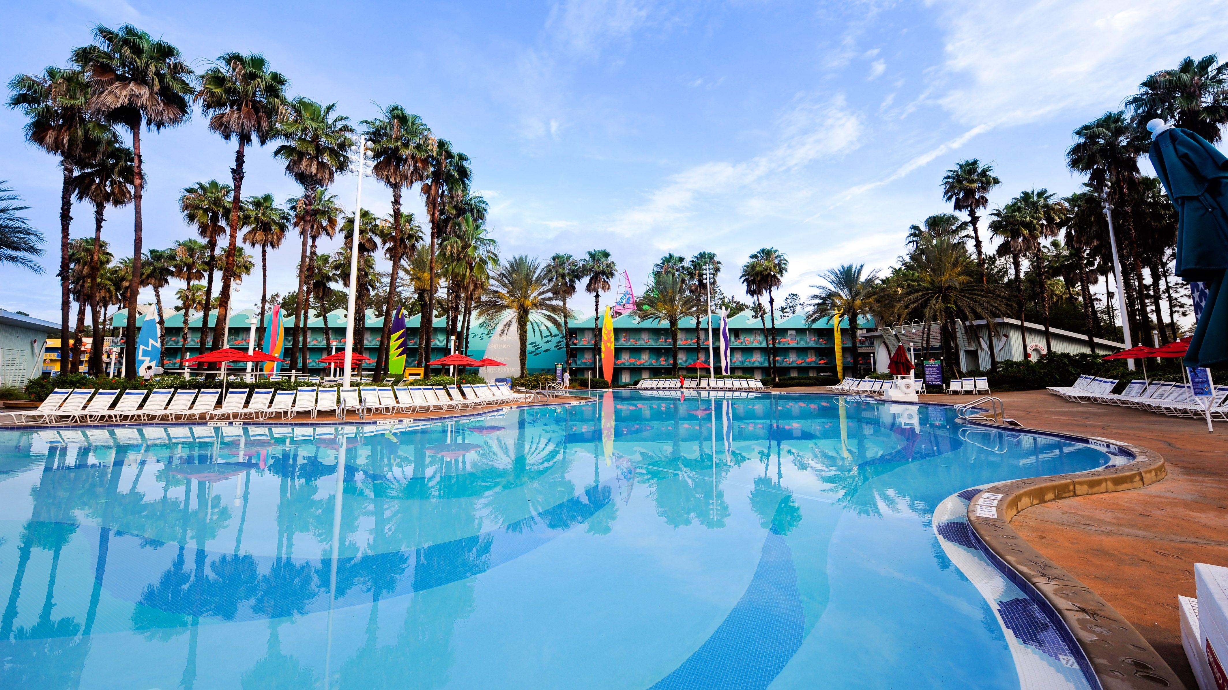 Disney swimming pools