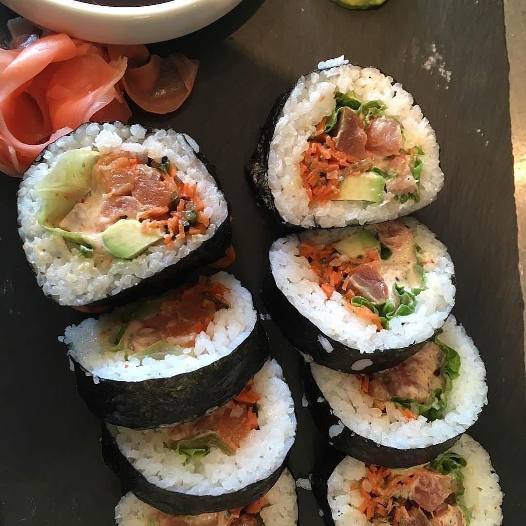Yum 5s17calgary has some beautiful sushi burritos http