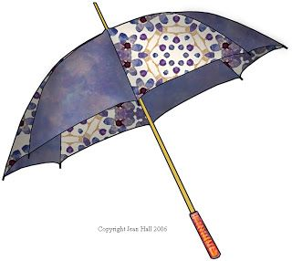 Purple Clip Art | ArtbyJean - Purple Wood Roses: FASHION UMBRELLAS - Clip art prints for ...