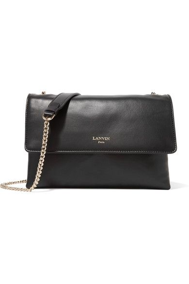 e6b691037eee Black leather (Lamb) Snap-fastening front flap Comes with dust bag Weighs  approximately 1.5lbs  0.7kg Made in Italy