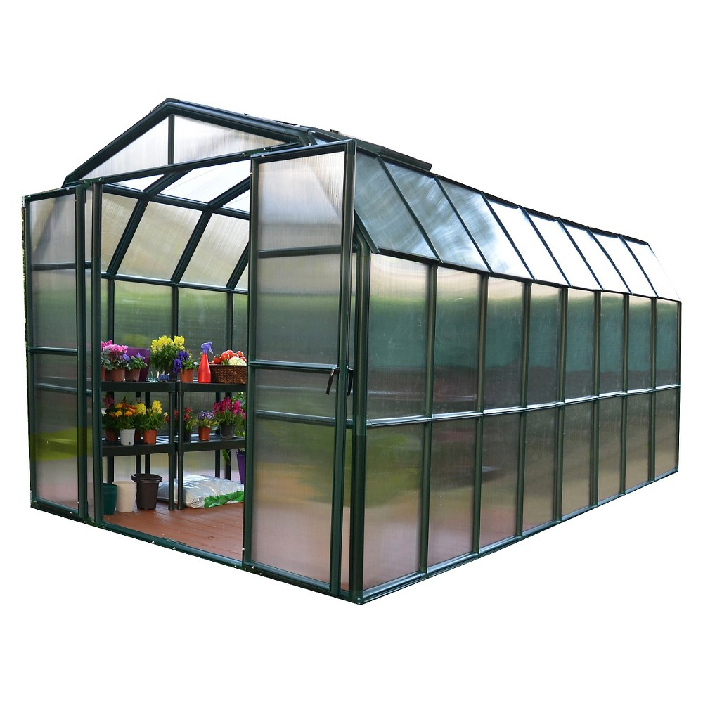 4740f63d54f6142dc14e69744441bee9 - Rion Grand Gardener 2 Clear Greenhouse 8 X 16