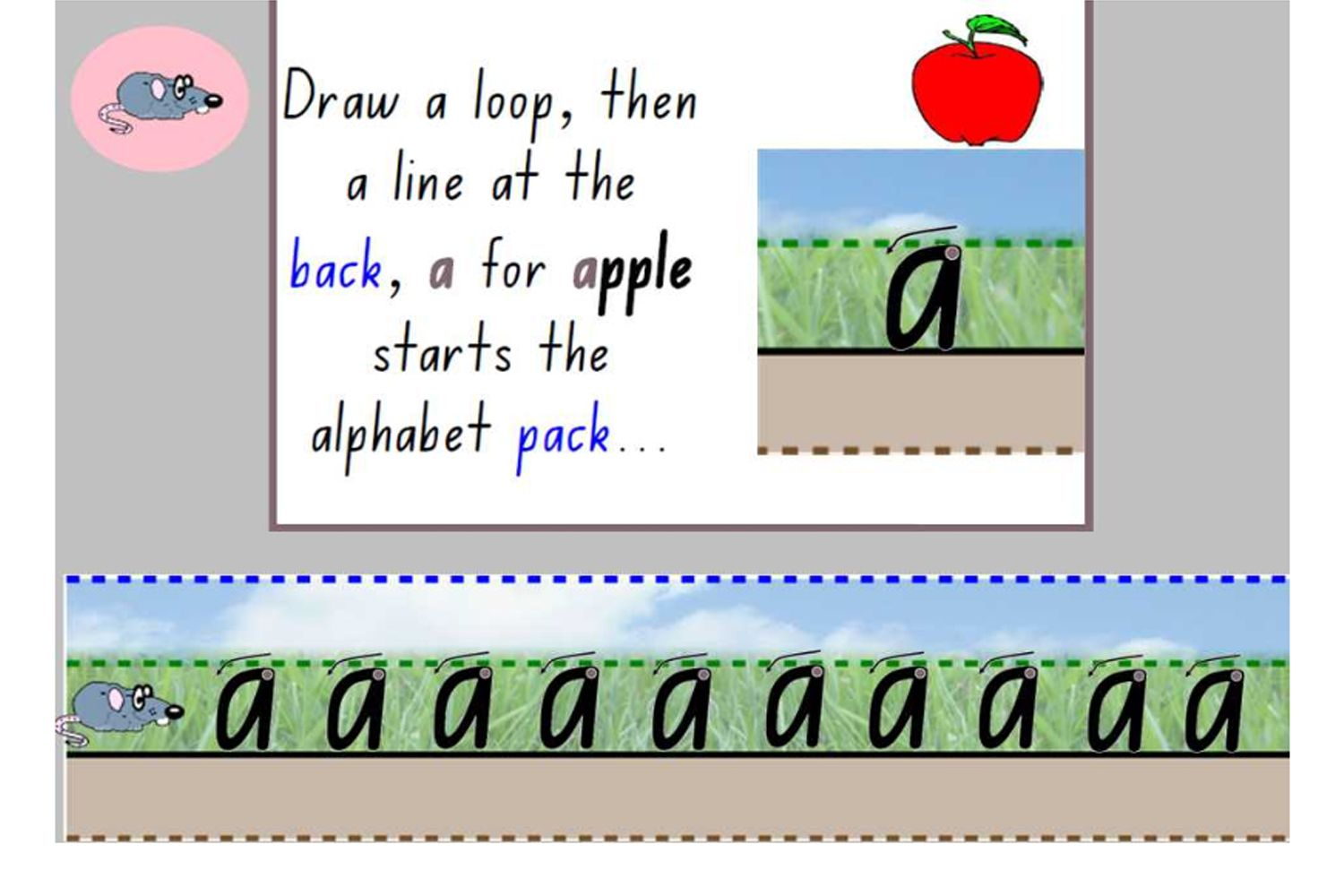 Nsw Foundation Handwriting Explicitly Teach The Correct Formation