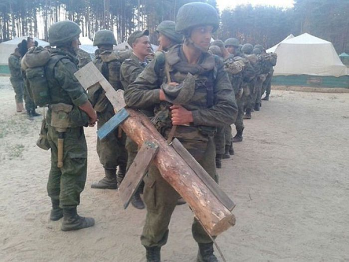Russian Army Punishment