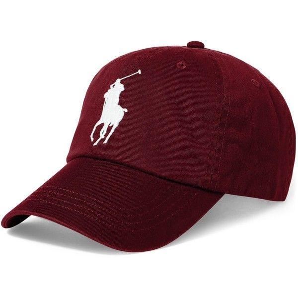 558f1351 Polo Ralph Lauren Men's Big Pony Cap ($50) ❤ liked on Polyvore ...