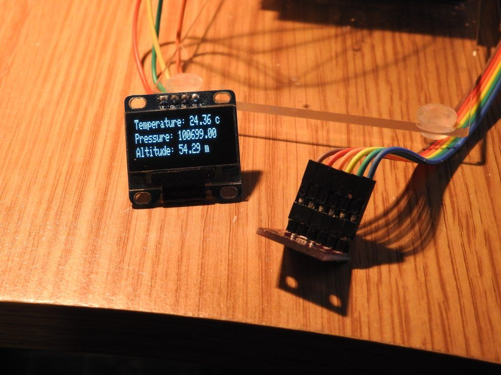 In this example we will connect a BME280 sensor to an Arduino and