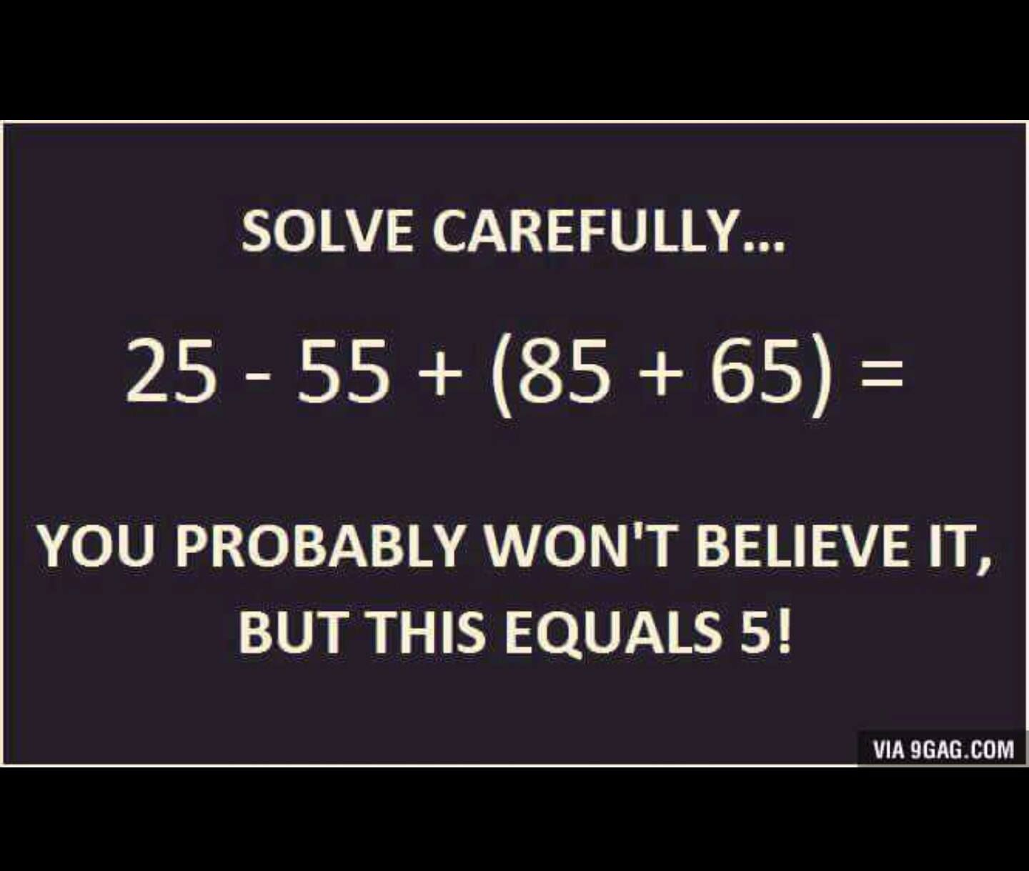 Math Humor The Exclamation Mark Is A Mathematical