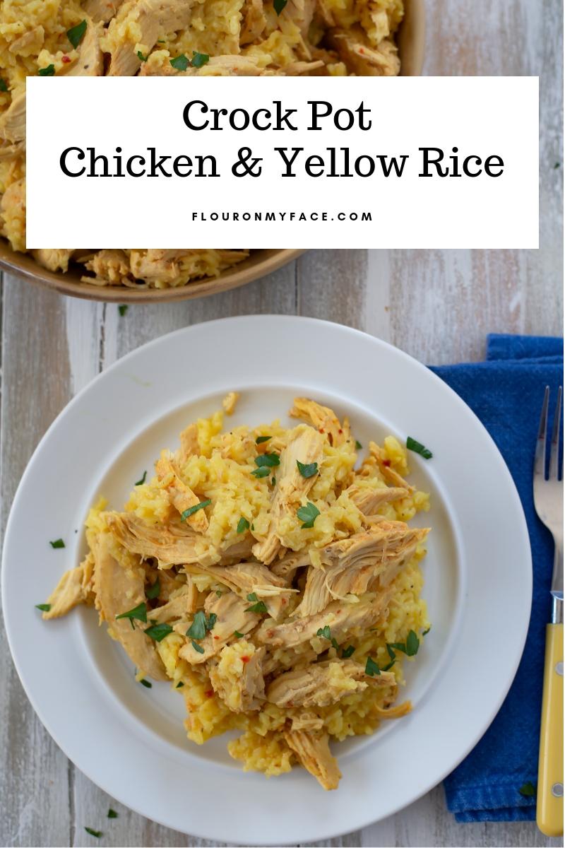 Chicken And Yellow Rice Crockpot Recipe