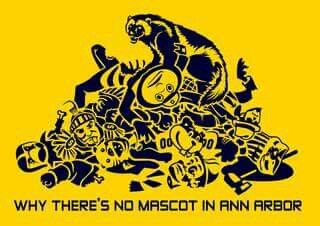 Image result for why there's no mascot in ann arbor