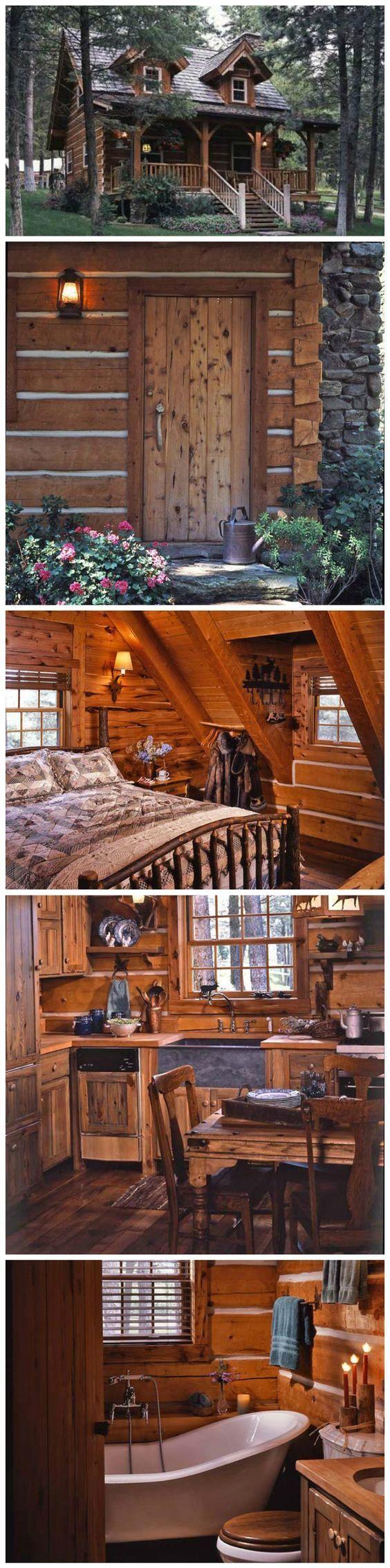 Jack Hanna's Log Cabin … | Украшение бревенчатых домов ...