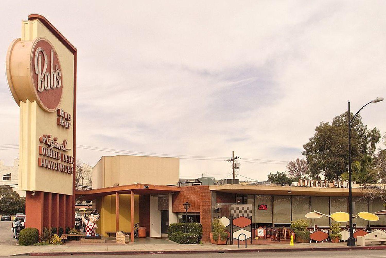 Usa Los Angeles Bob S Big Boy Burgers Architecture Googies 4211 W Riverside Dr Burbank Photo Junkyardsparkleen W En 2020 Sud Ouest Ouest Americain Ouest