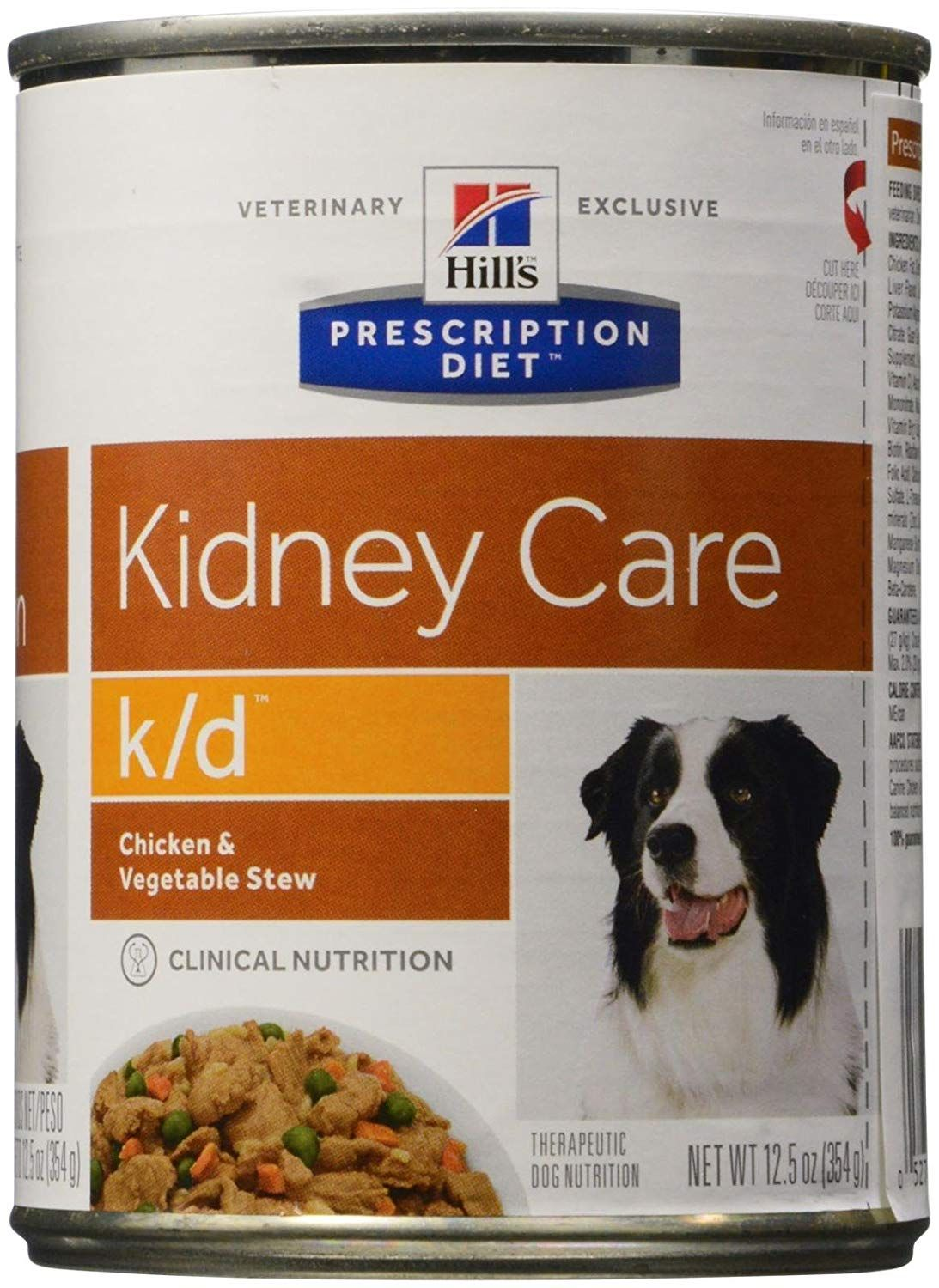 Hill S Prescription Diet K D Canine Renal Health Chicken And Vegetable Stew 12x12 5oz Si Dog Food Recipes Chicken Vegetable Stew Chicken And Vegetables