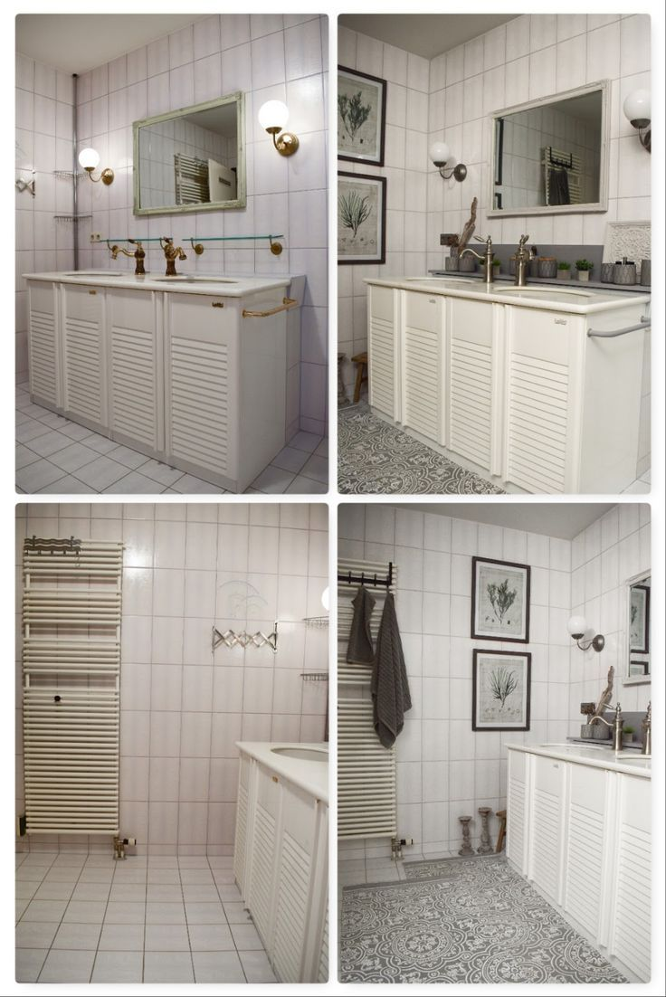 verschönerung badezimmer ideen deko bad renovierung selber