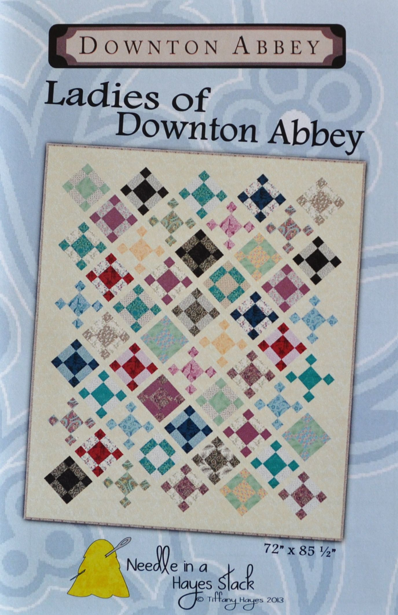 NEW Downton Abbey Quilt pattern - Ladies of Downton Abbey ... : downton abbey quilt kits - Adamdwight.com