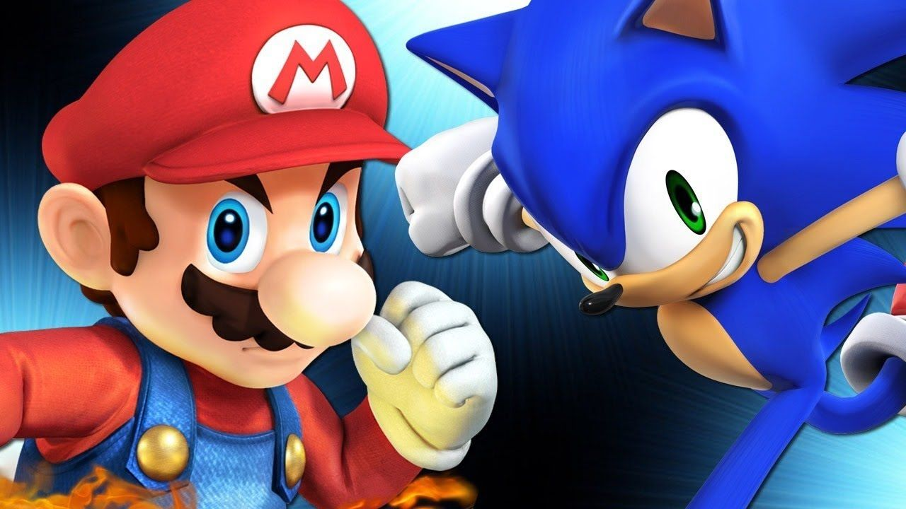 Sonic vs Mario Rap Battle [ Extended + Remastered