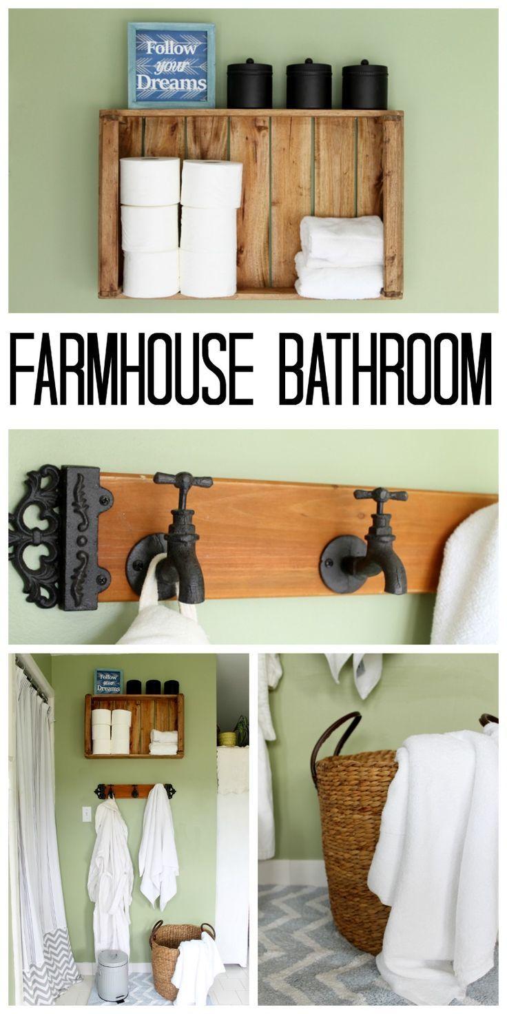 Rustic Farmhouse Bathroom Ideas Rustic Farmhouse Bathroom