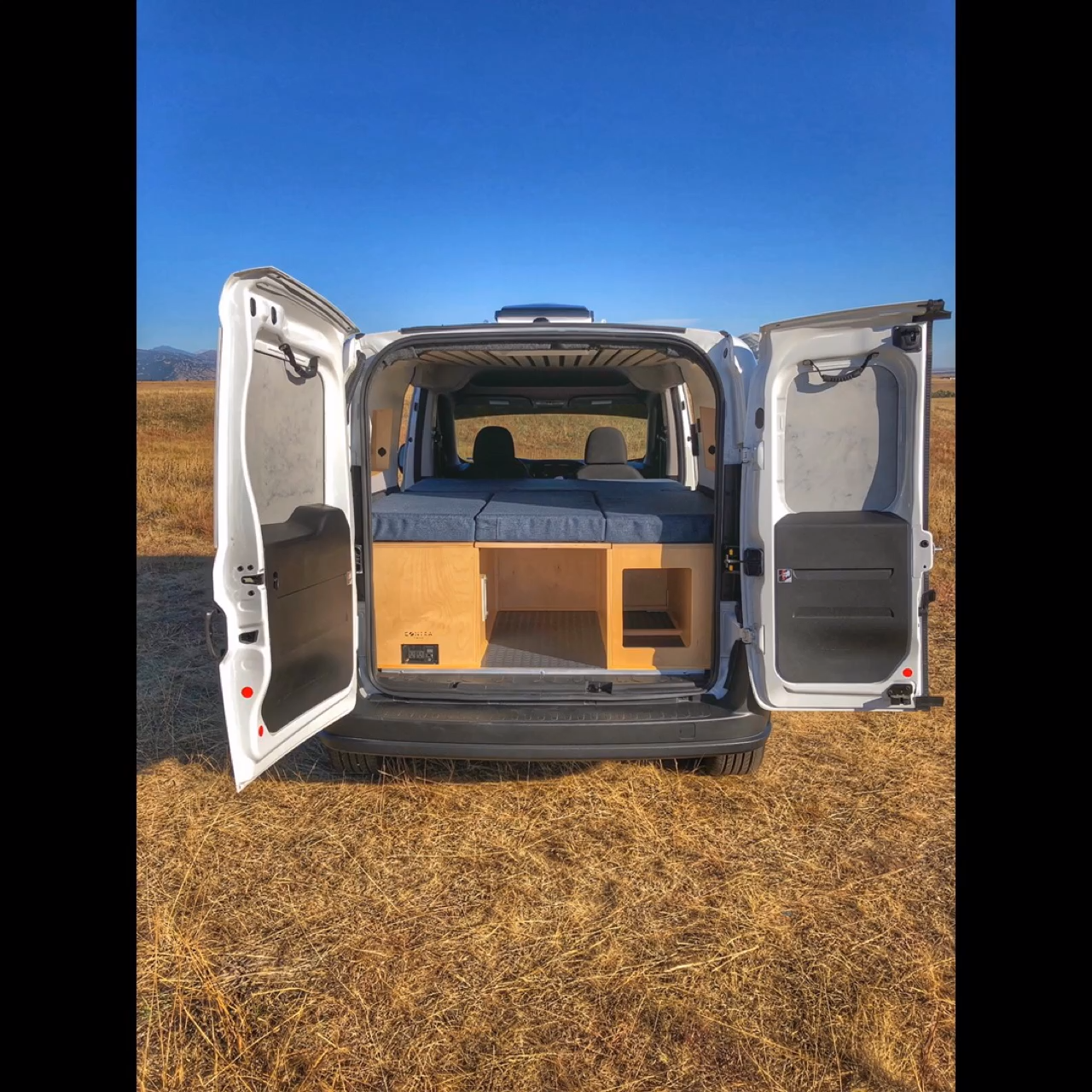 Double Bench Seat Cargo Van Conversion Video Cargo Van